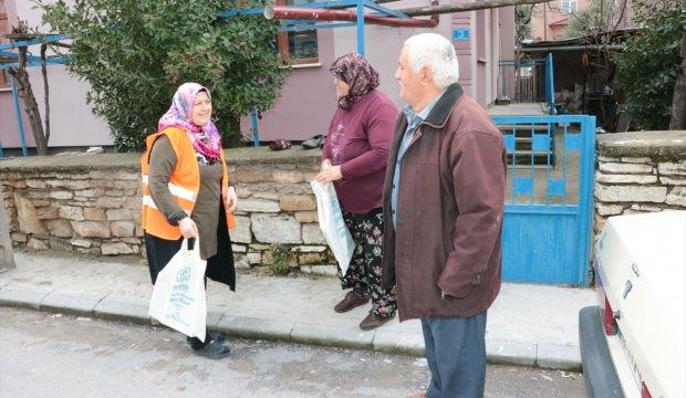 Beyşehir Belediyesi ücretsiz alışveriş torbası dağıttı