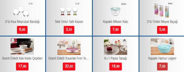 BİM glassware