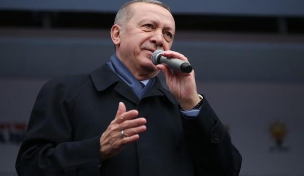 Erdoğan'dan Macron'a şemalı cevap!