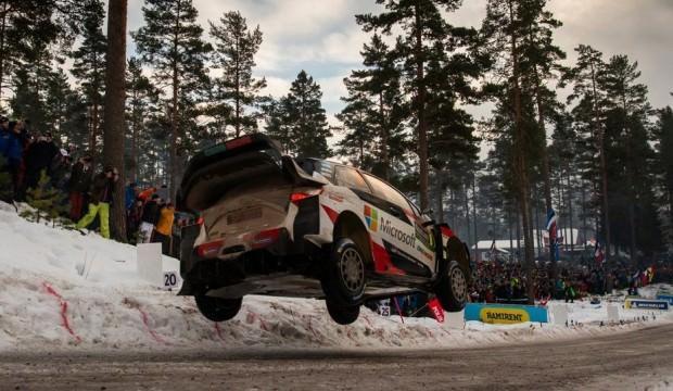 İsveç Rallisi'nde kazanan Ott Tanak