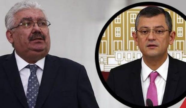 MHP'li Yalçın'dan Özgür Özel'e sert sözler