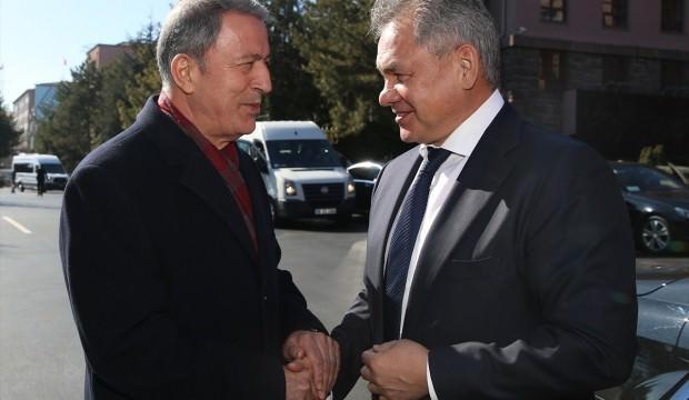 Türkiye ile Rusya arasındaki kritik görüşme! İlk açıklama Akar'dan