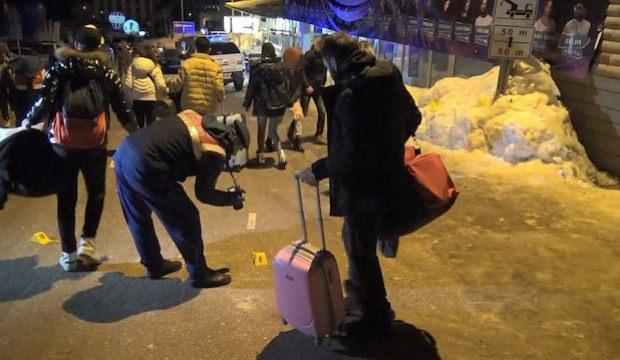 Uludağ'da korkunç olay! Valizini alan kaçtı