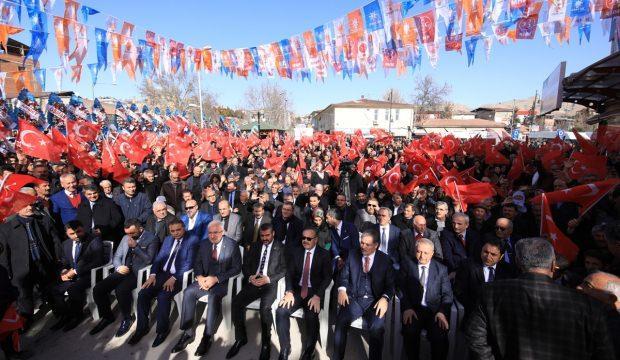 Cumhur İttifakı'nın Darende seçim irtibat bürosu açıldı
