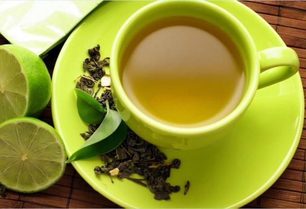 yeşil çay limon soda kürü