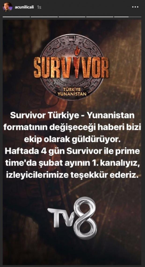 Survivor açıklama