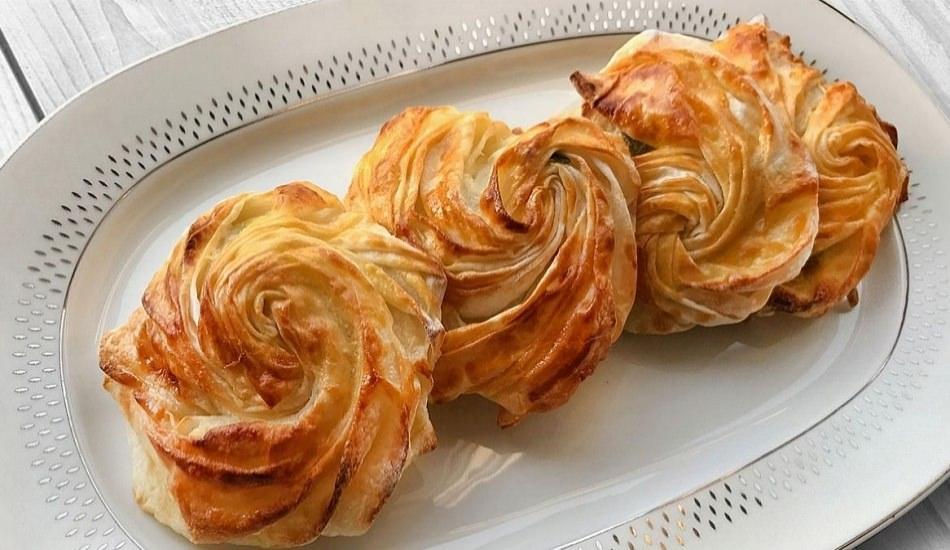 Enfes rüzgar gülü böreği nasıl yapılır?