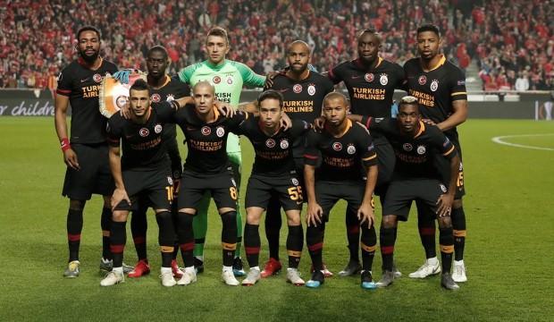Galatasaray, Avrupa'da dip yaptı!