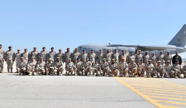 Ortak askeri tatbikat! Katar da katılıyor