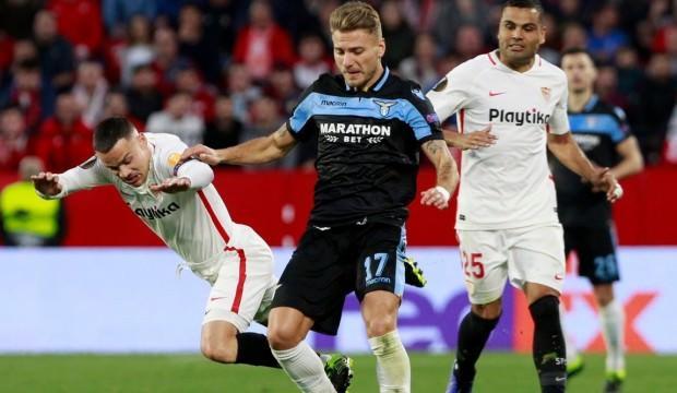 Sevilla Lazio'ya şans tanımadı! Son 16...