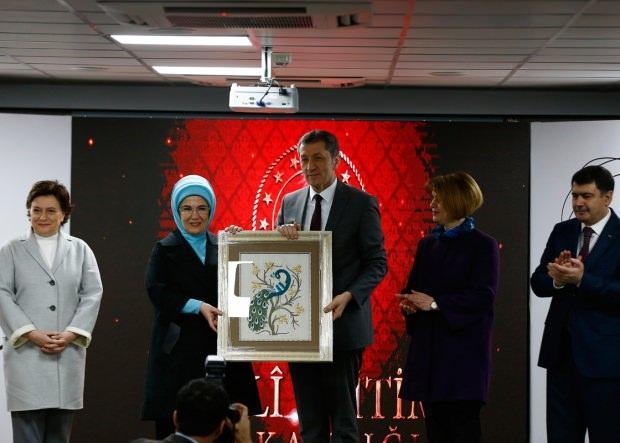 Emine Erdoğan ve Ziya Selçuk