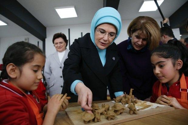 Başkan Erdoğan'ın eşi