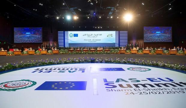 AB-Arap Birliği Zirvesi sonuç bildirgesine itiraz