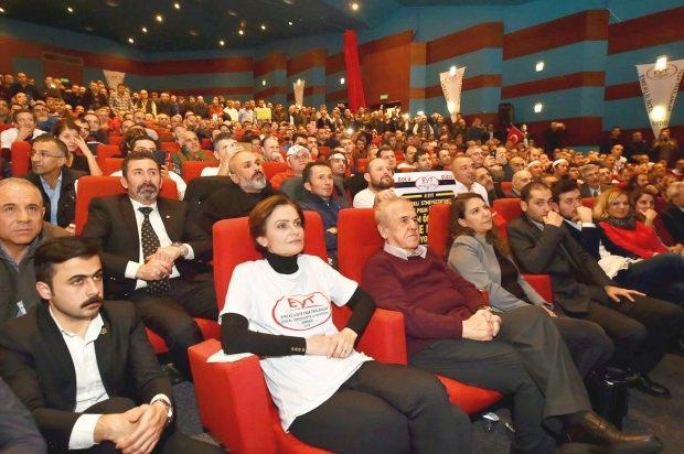 CHP İstanbul İl Başkanı Canan Kaftancıoğlu EYT toplantısında