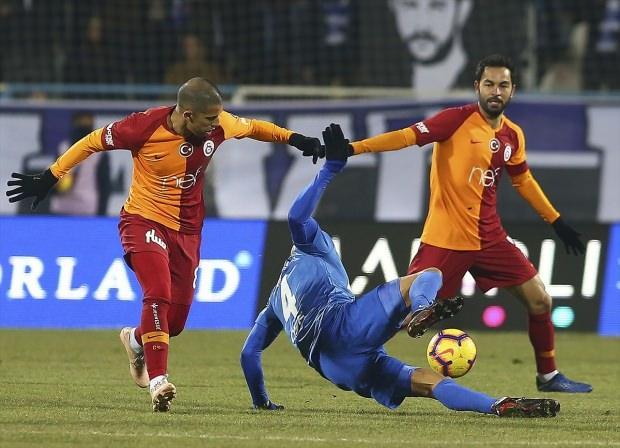 Galatasaray'ı Erzurumspor durdurdu!
