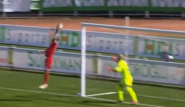 Giresunspor - Boluspor maçında görülmemiş olay!