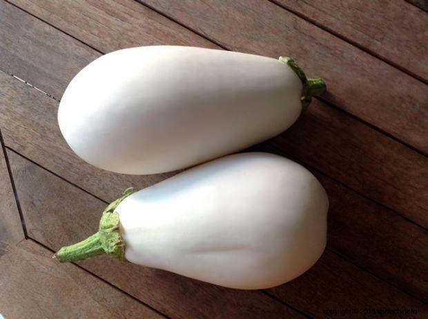 beyaz patlıcan