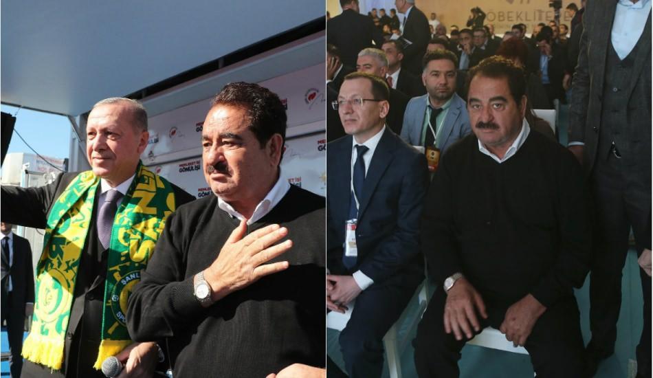 Cumhurbaşkanı Erdoğan mitinginde İbrahim Tatlıses sürprizi!