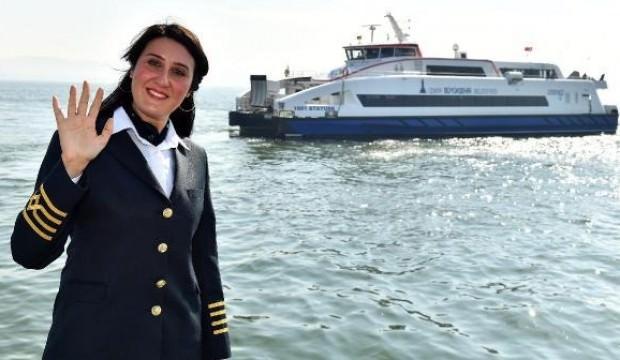 İzmir Körfezi'nin kadın kaptanı