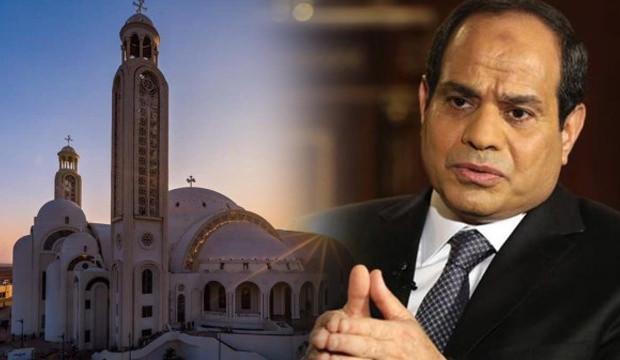 Mısır'da darbeci Sisi, 100'den fazla kaçak kiliseye ruhsat verdi!