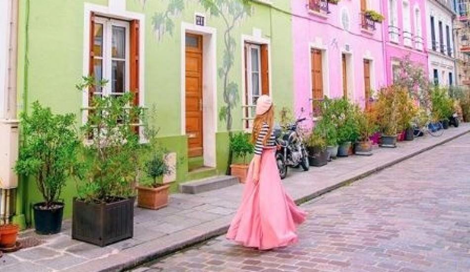 Paris'teki o sokakta resim çekmek artık yasak!