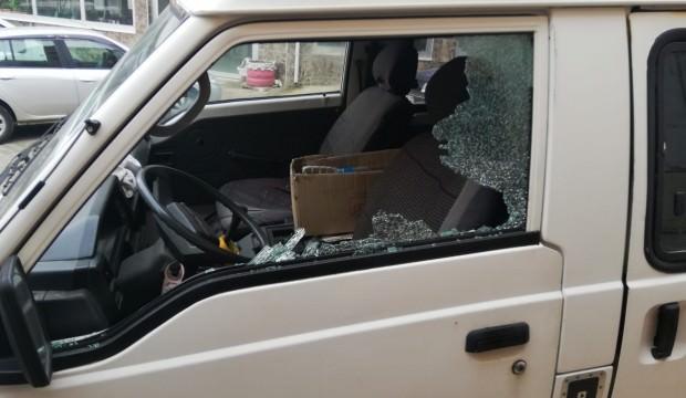 Tekirdağ'da minibüse saldırı
