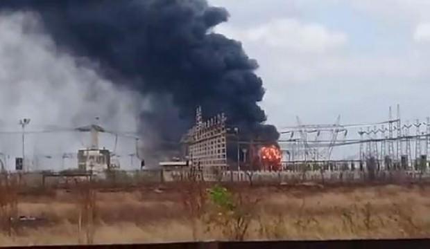 Venezuela'da patlama! Açık açık sabotaj!