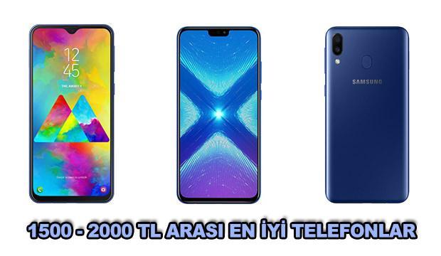 1500 - 2000 TL arasındaki en iyi akıllı telefonlar!