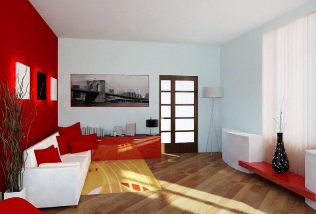 Stüdyo ev dekorasyon fikirleri