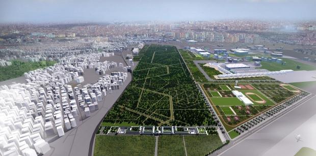 Atatürk Havalimanı Millet Bahçesi Fuar ve Kongre Merkezi proje görseli