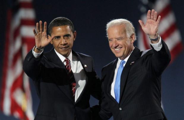 ABD'nin eski başkanı Barack Obama ve Joe Biden...