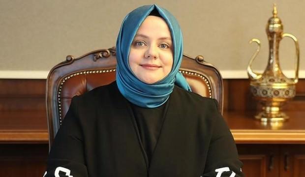 """Aile Bakanı Selçuk'tan """"nafaka"""" açıklaması"""