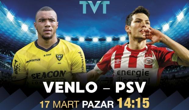 VVV Venlo - PSV maçı TVT'de