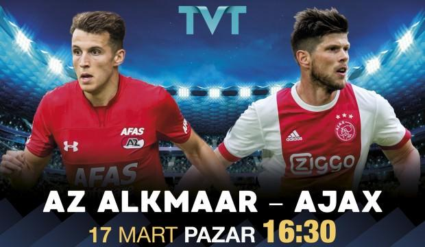 AZ Alkmaar - Ajax maçı TVT'de!