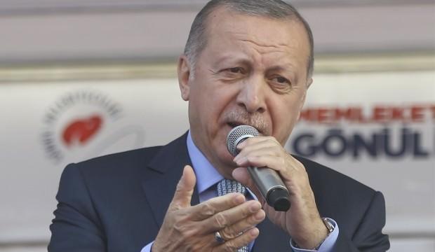 Erdoğan'dan Mansur Yavaş çıkışı