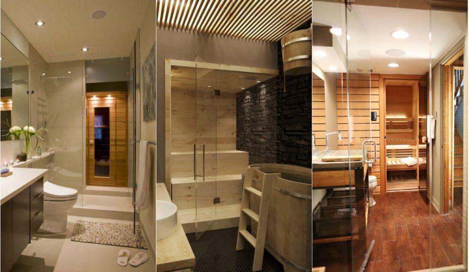 Ev sauna modelleri