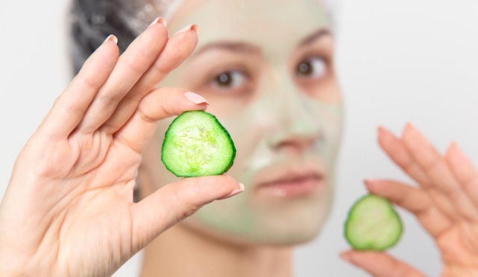 Salatalığın cilde faydaları nelerdir? Salatalık maskesi ne işe yarar?