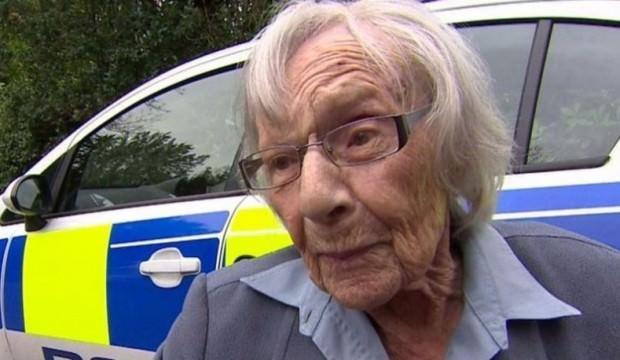 104 yaşındaki kadının polislere seslendi: Ne olur beni tutuklayın