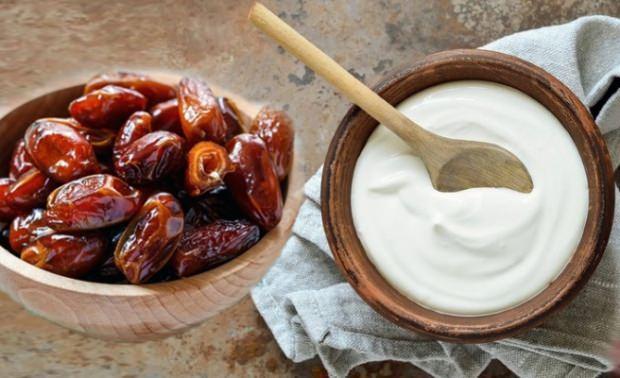hurma ve yoğurt ile zayıflama