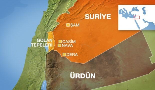 Golan Tepeleri Nerede
