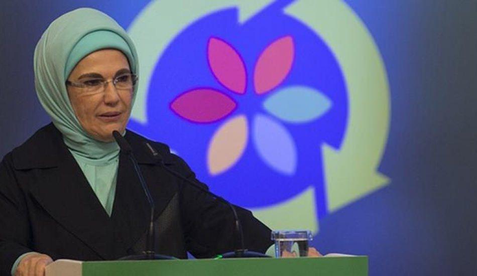 Emine Erdoğan: Türkiye sıfır atık konusunda Müslüman toplumlara liderlik yapabilir