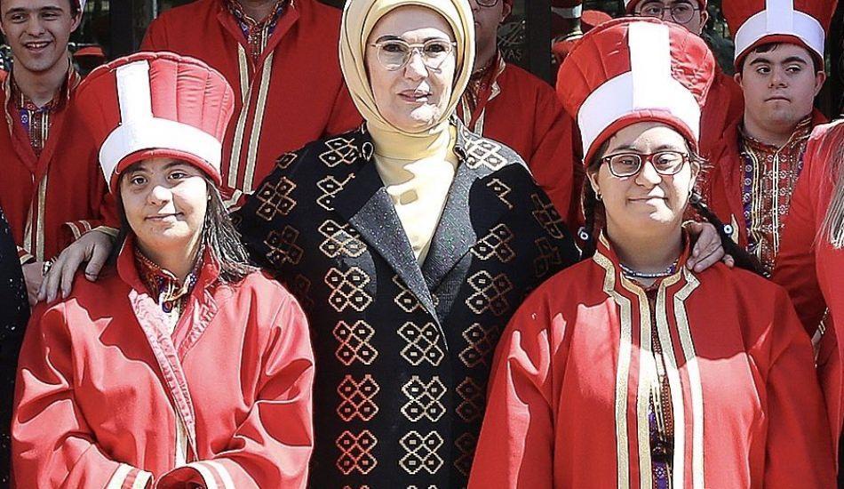 Engelsiz Yaşam ve Özel Eğtim merkezi açılışını  Emine Erdoğan yaptı