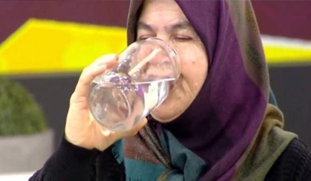 Günde tam 25 litre su içiyor!