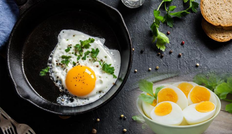 Haftada 12 kilo zayıflatan 'Yumurta' diyeti
