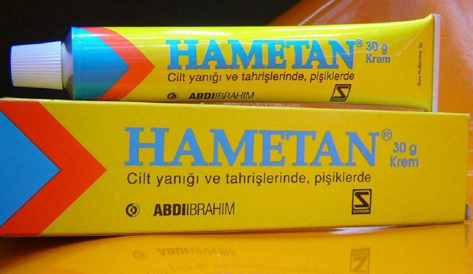 Hametan krem ne işe yarar? Hametan krem nasıl kullanılır? Hametan farkları