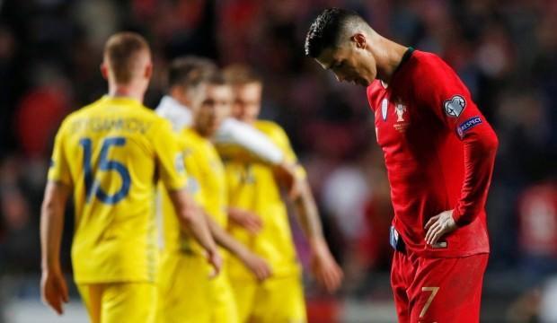 Ronaldo sustu, Portekiz sustu!