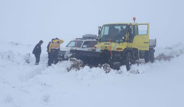 Siirt'te 27 köy yolu ulaşıma kapandı