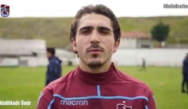 Trabzonspor'dan 'Hello Brother' paylaşımı