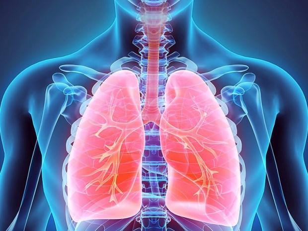 akciğerde lekenlenme