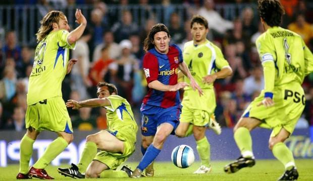 Barcelona tarihinin en güzel golleri Messi'nin